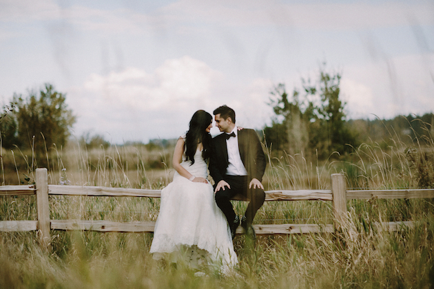 Rustic Romance: A Modern Indian Wedding in British Columbia - Bridal Musings