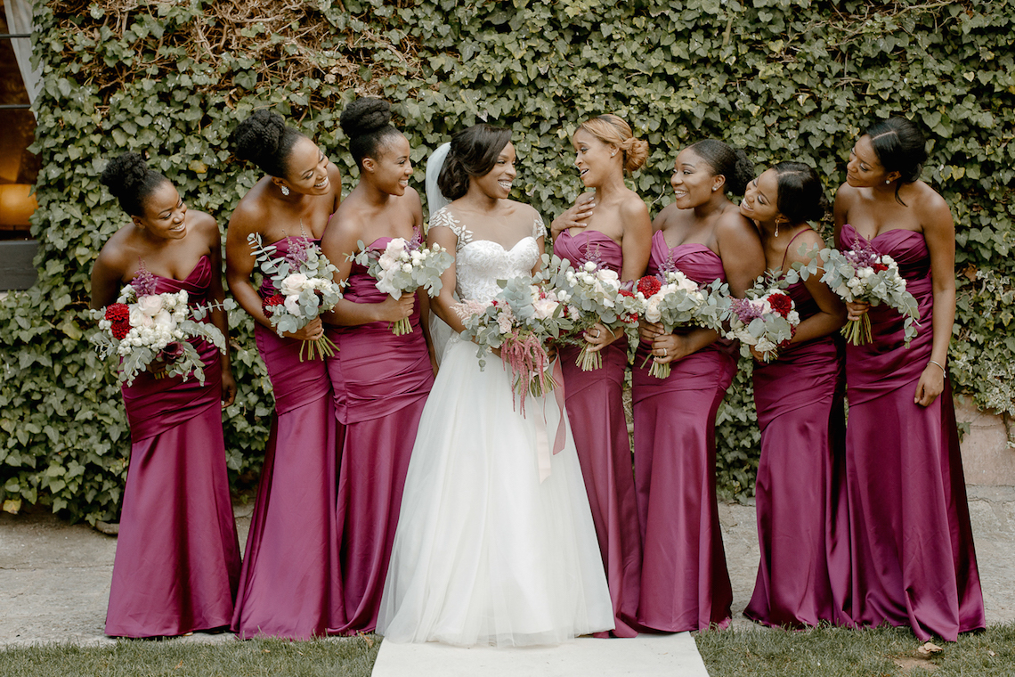 Gorgeous Bridesmaids by Paola Colleoni