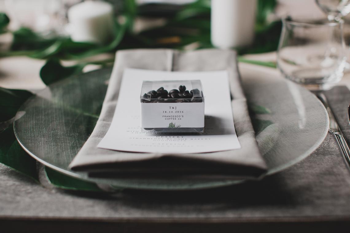 Moody & Modern Warehouse Wedding Inspiration by Jonathan Kuhn Photography 20