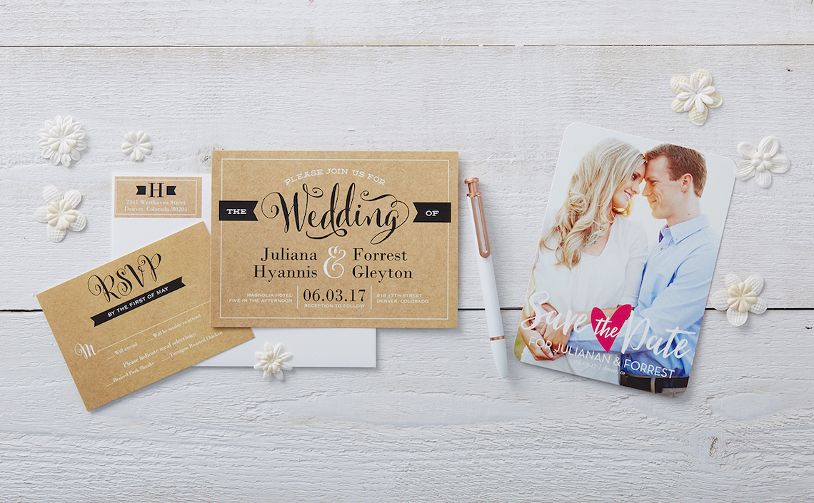 Shutterfly Wedding Stationery 1