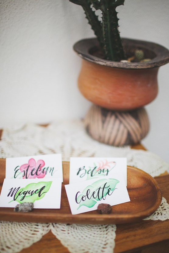Cool Fiesta Wedding Inspiration by Claire Eliza Photography and High Violet Flowers 22