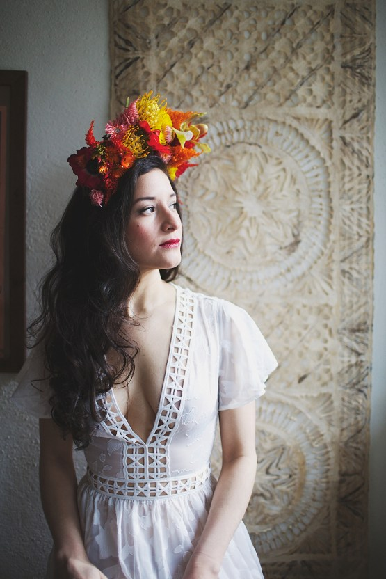 Cool Fiesta Wedding Inspiration by Claire Eliza Photography and High Violet Flowers 28