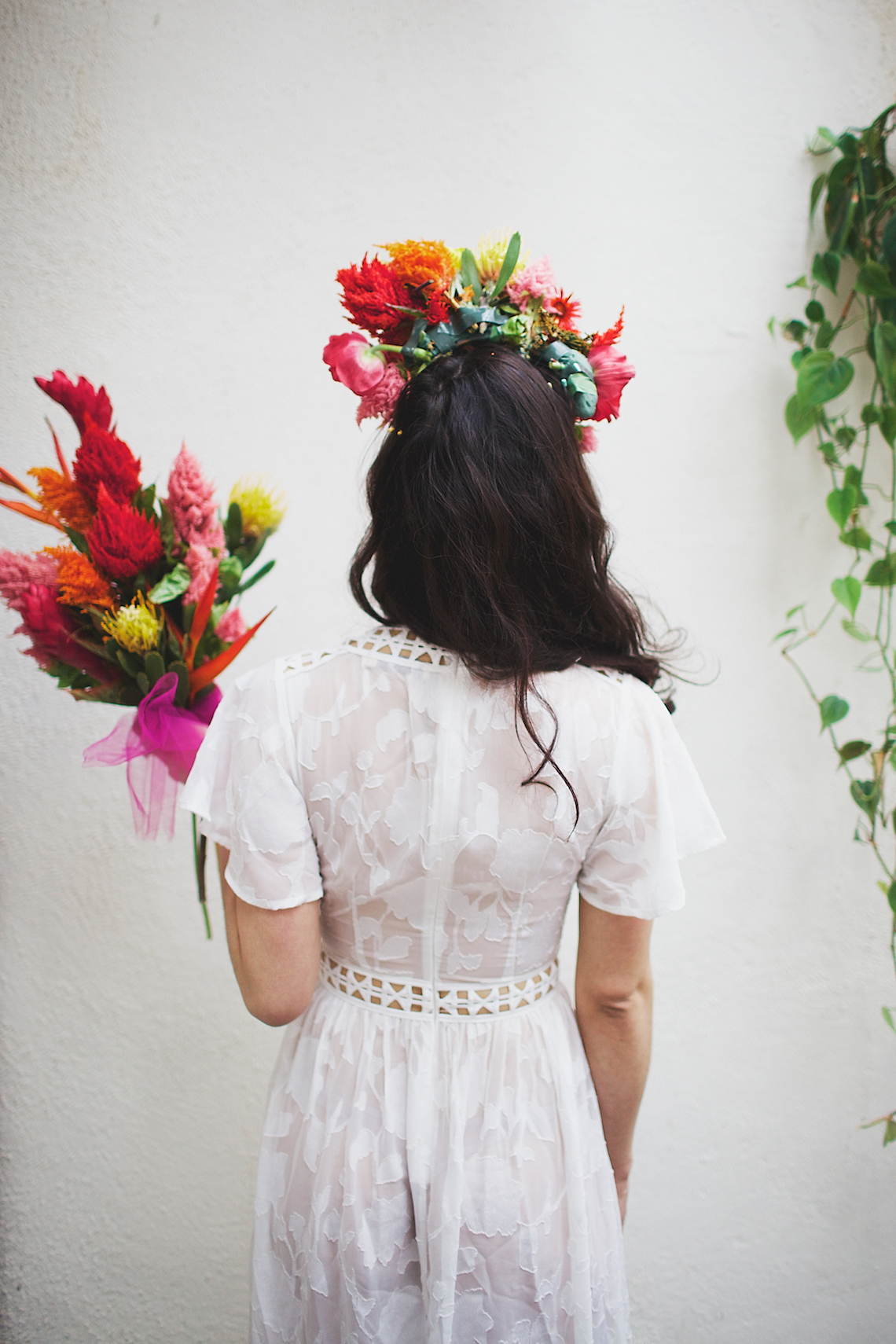 Cool Fiesta Wedding Inspiration by Claire Eliza Photography and High Violet Flowers 31