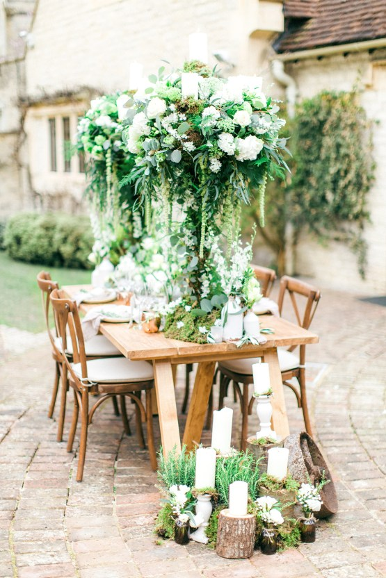 Romantic Wedding Inspiration at Le Manoir