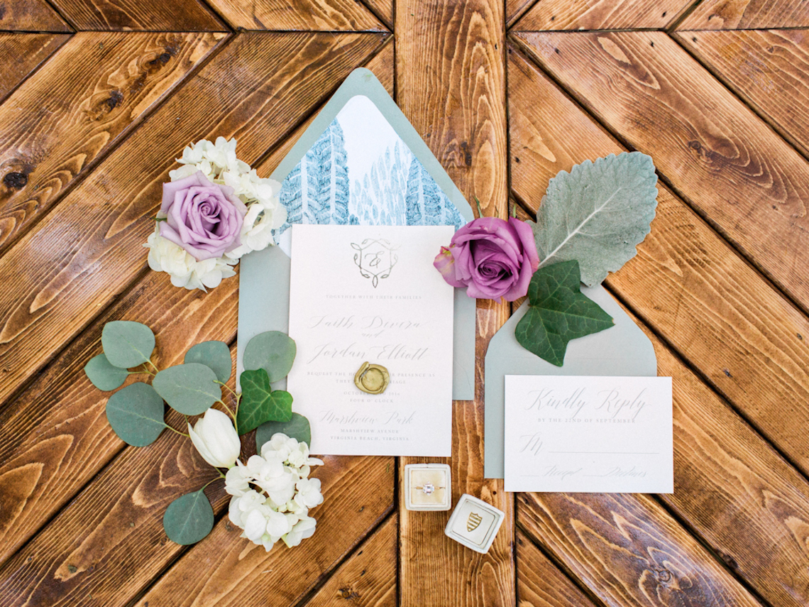 Woodland Wedding Inspiration by Molly Lichten Photography and Jamie Leigh Events 23