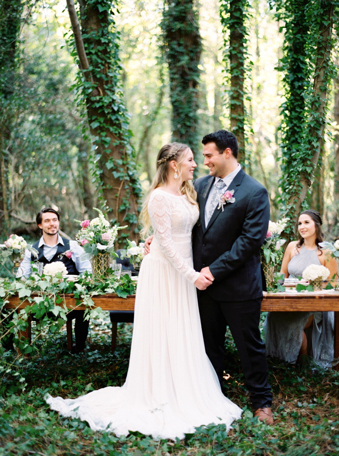 Woodland Wedding Inspiration by Molly Lichten Photography and Jamie Leigh Events 5