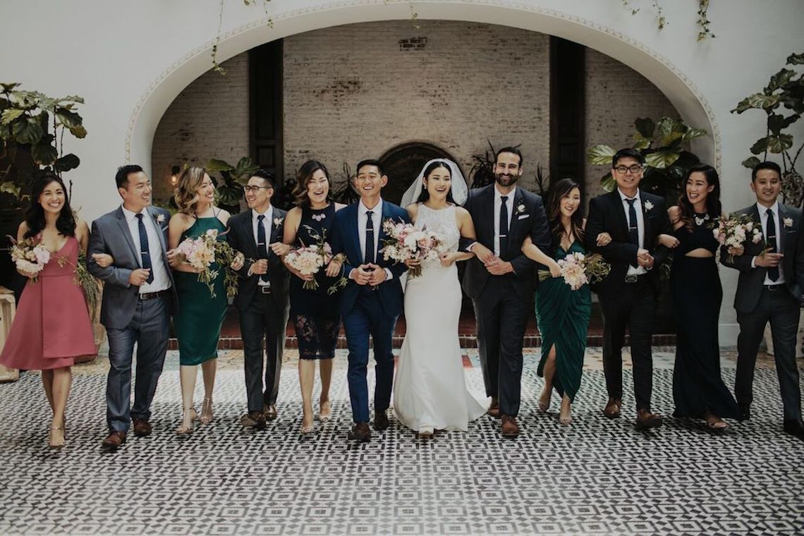 Glamorous & Stylish Wedding by Katie Branch Photography and Jen Kruger Design 44