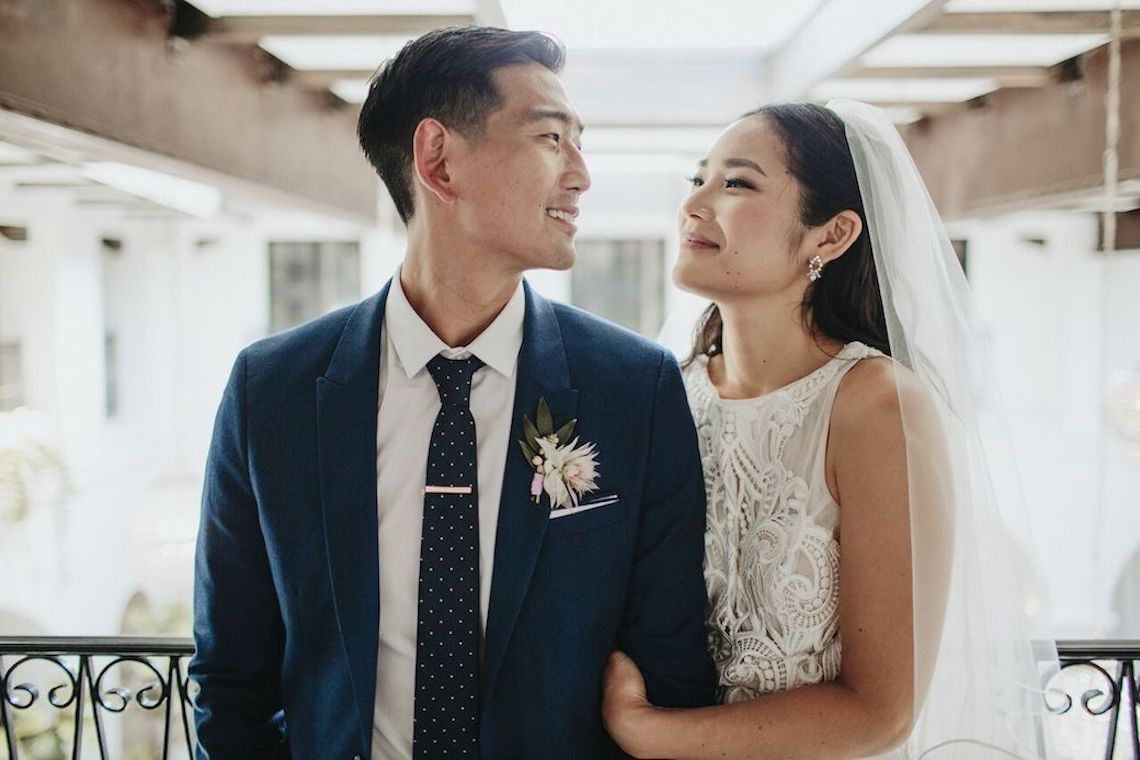 Glamorous & Stylish Wedding by Katie Branch Photography and Jen Kruger Design 58