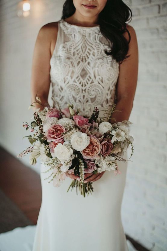 Glamorous & Stylish Wedding by Katie Branch Photography and Jen Kruger Design 60