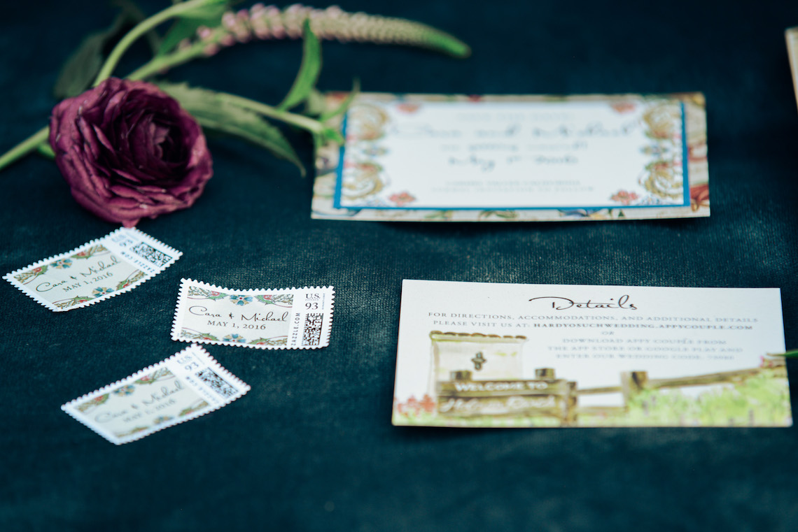 Gorgeous Outdoor Wedding by Rebecca Marie Photography 29