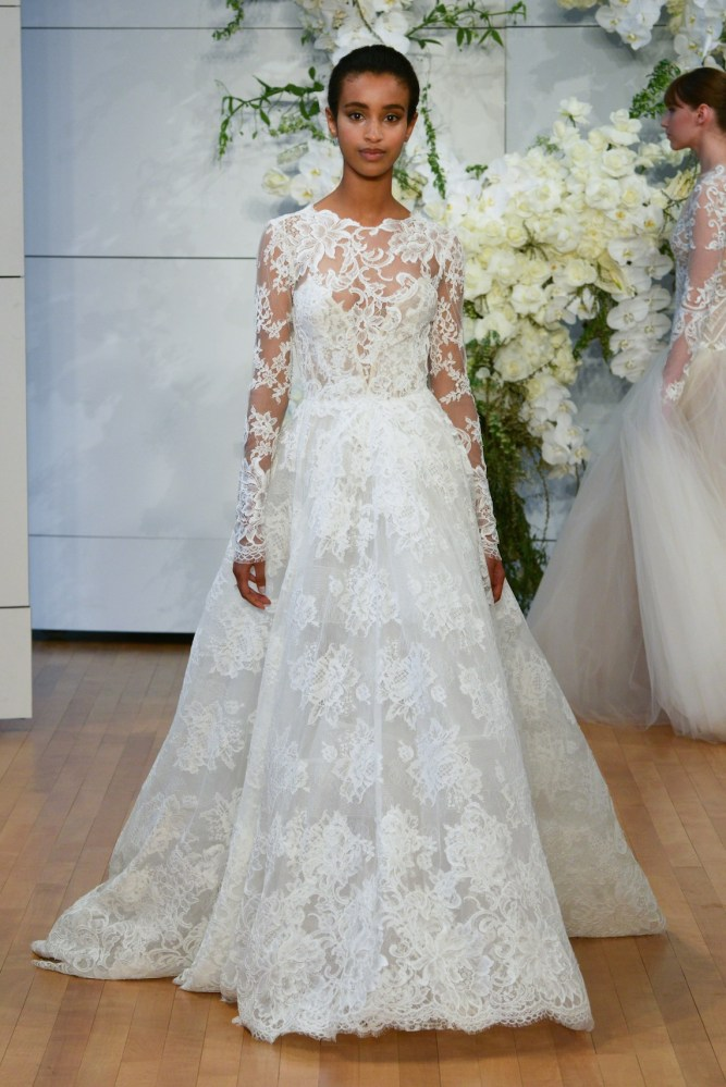 Best Of Bridal Fashion Week Monique Lhuillier Wedding Dress Collection 2018