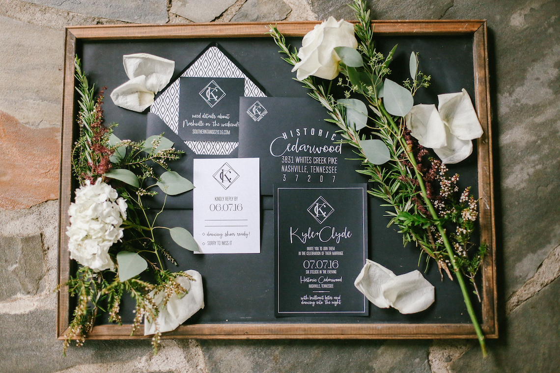 Same Sex Southern Wedding Inspiration by Jenna Henderson and Cedarwood Weddings 13