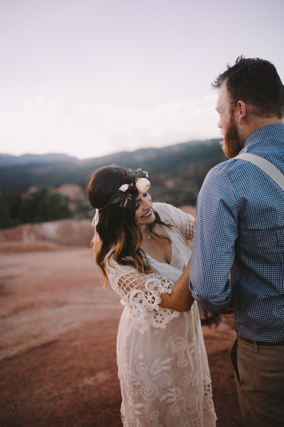 Sunset Elopement by Ashlee Kay Photography 4