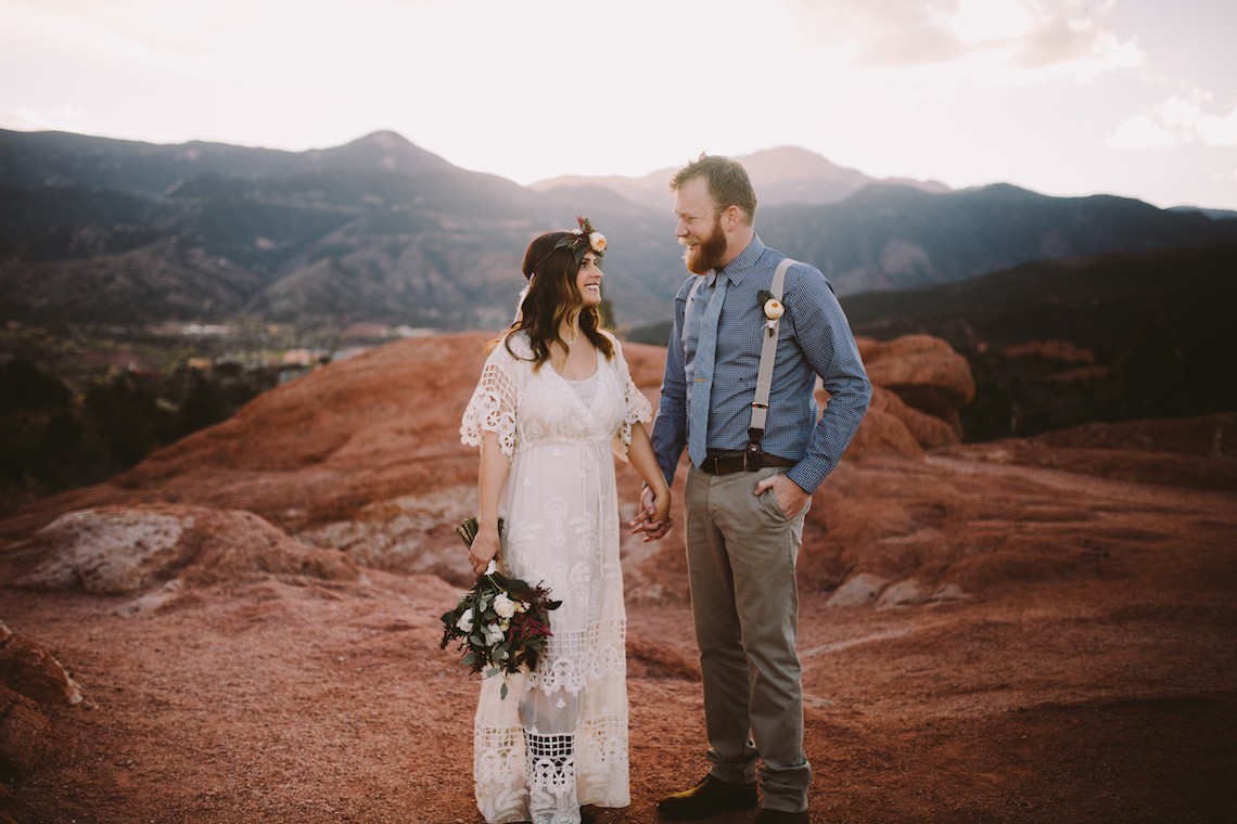 Sunset Elopement by Ashlee Kay Photography 5