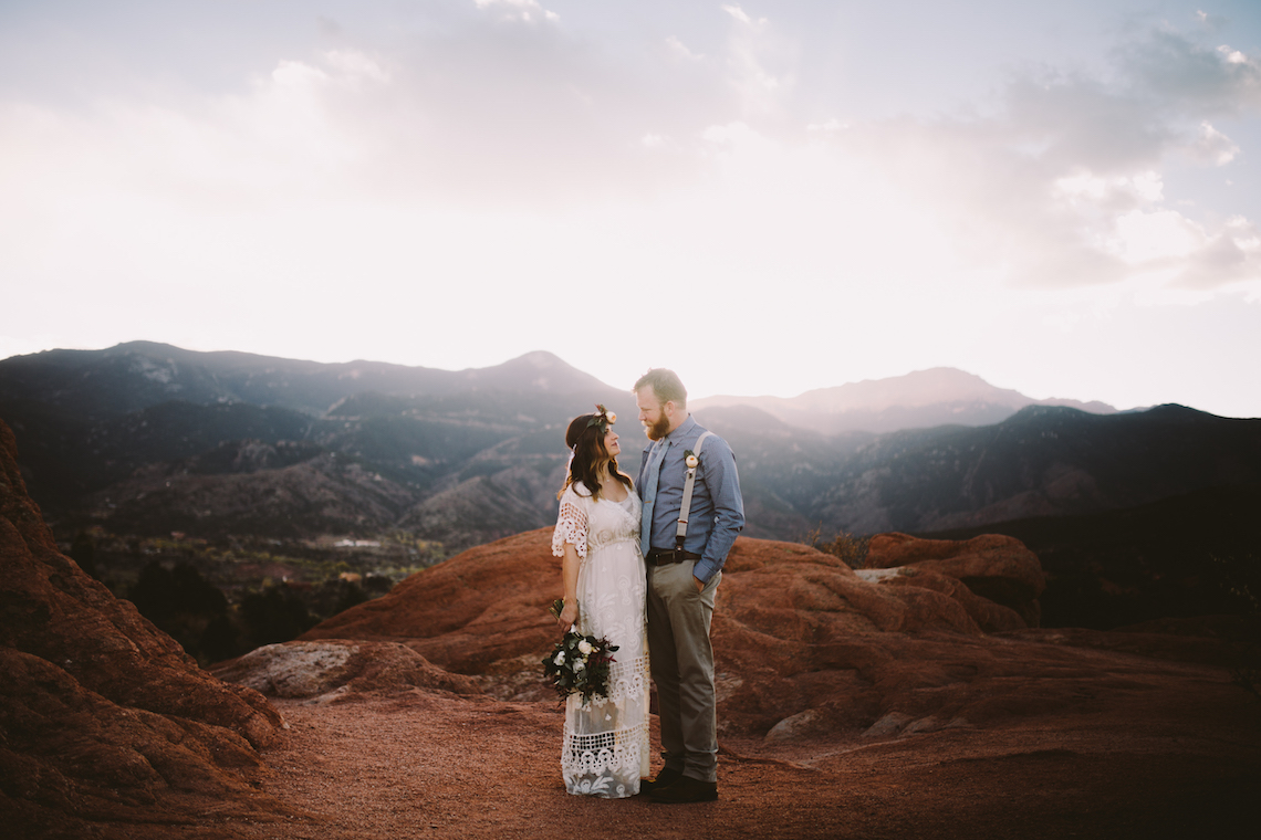 Sunset Elopement by Ashlee Kay Photography 6