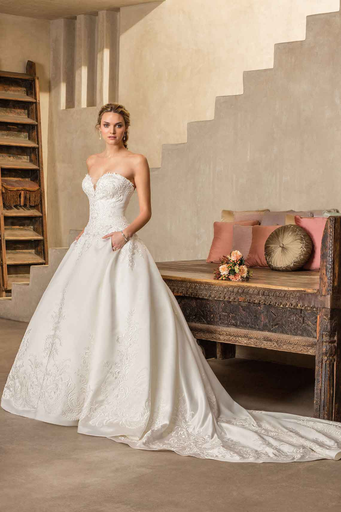 Casablanca Bridal Wedding Dress Collection 20