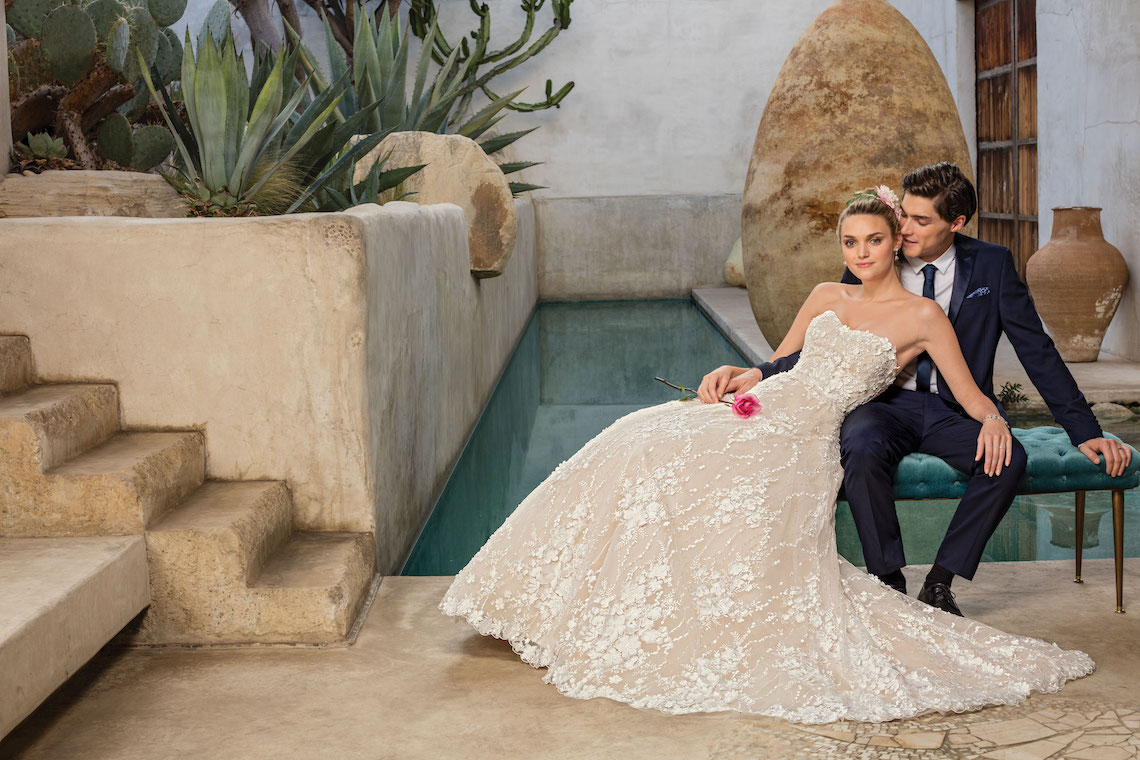 Casablanca Bridal Wedding Dress Collection 28