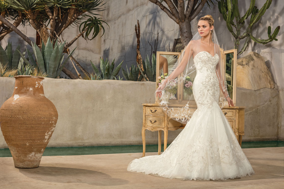 Casablanca Bridal Wedding Dress Collection 45