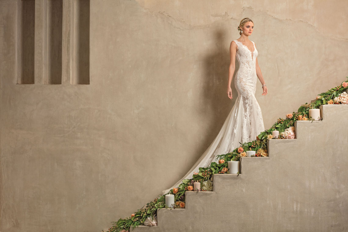 Casablanca Bridal Wedding Dress Collection 48