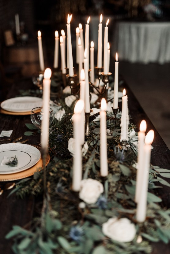 Moody Winter Wedding Inspiration by Kelcy Leigh Photography 6