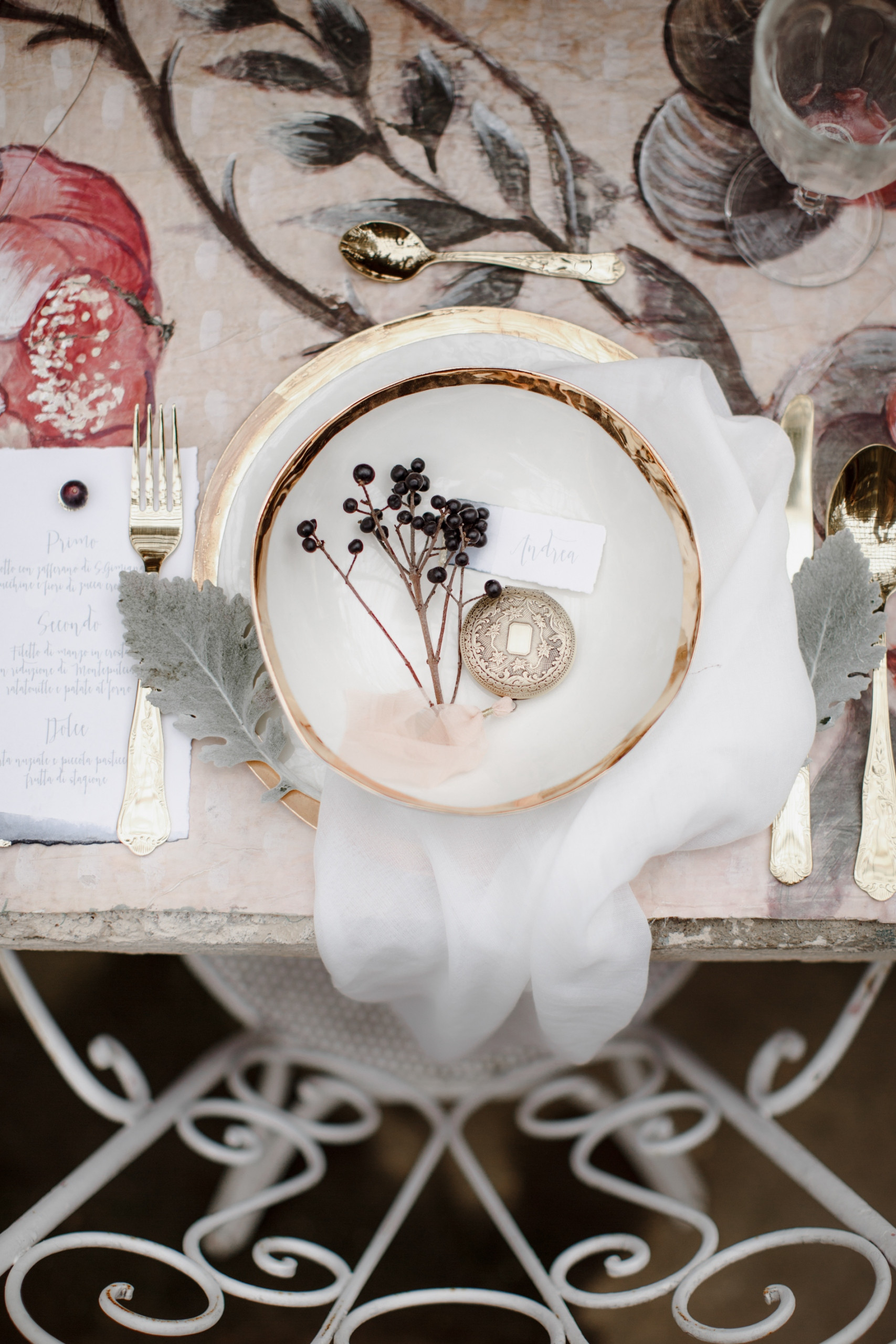 Secret Garden Wedding Inspiration by Monica Leggio and BiancoAntico 44