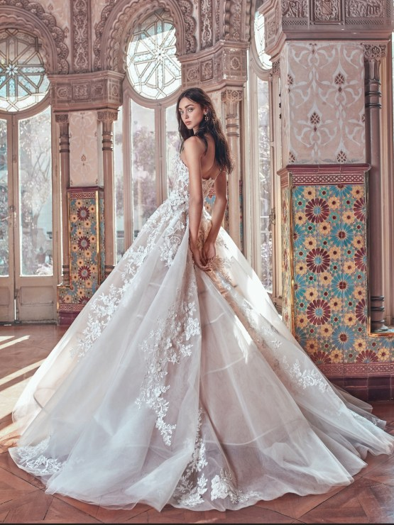 Alma back Galia Lahav Wedding Dress Collection 2018 01