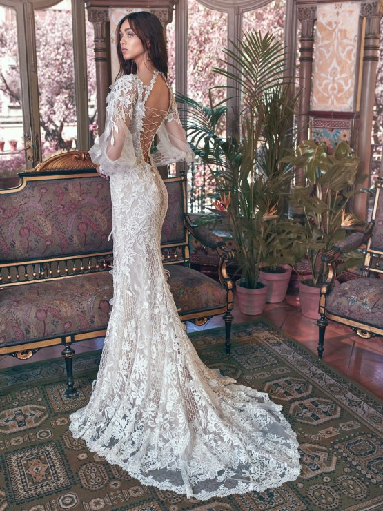 Lia back Galia Lahav Wedding Dress Collection 2018 11