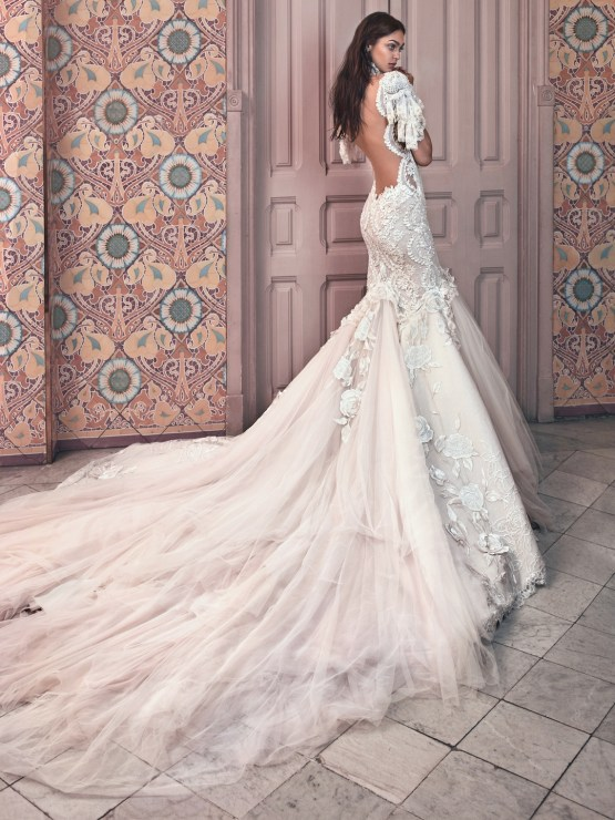 Ms. Genesis back Galia Lahav Wedding Dress Collection 2018 18
