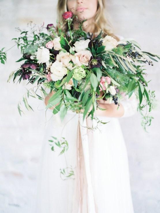 Pretty Warehouse Wedding Inspiration by Natashia Nicole Photography 30