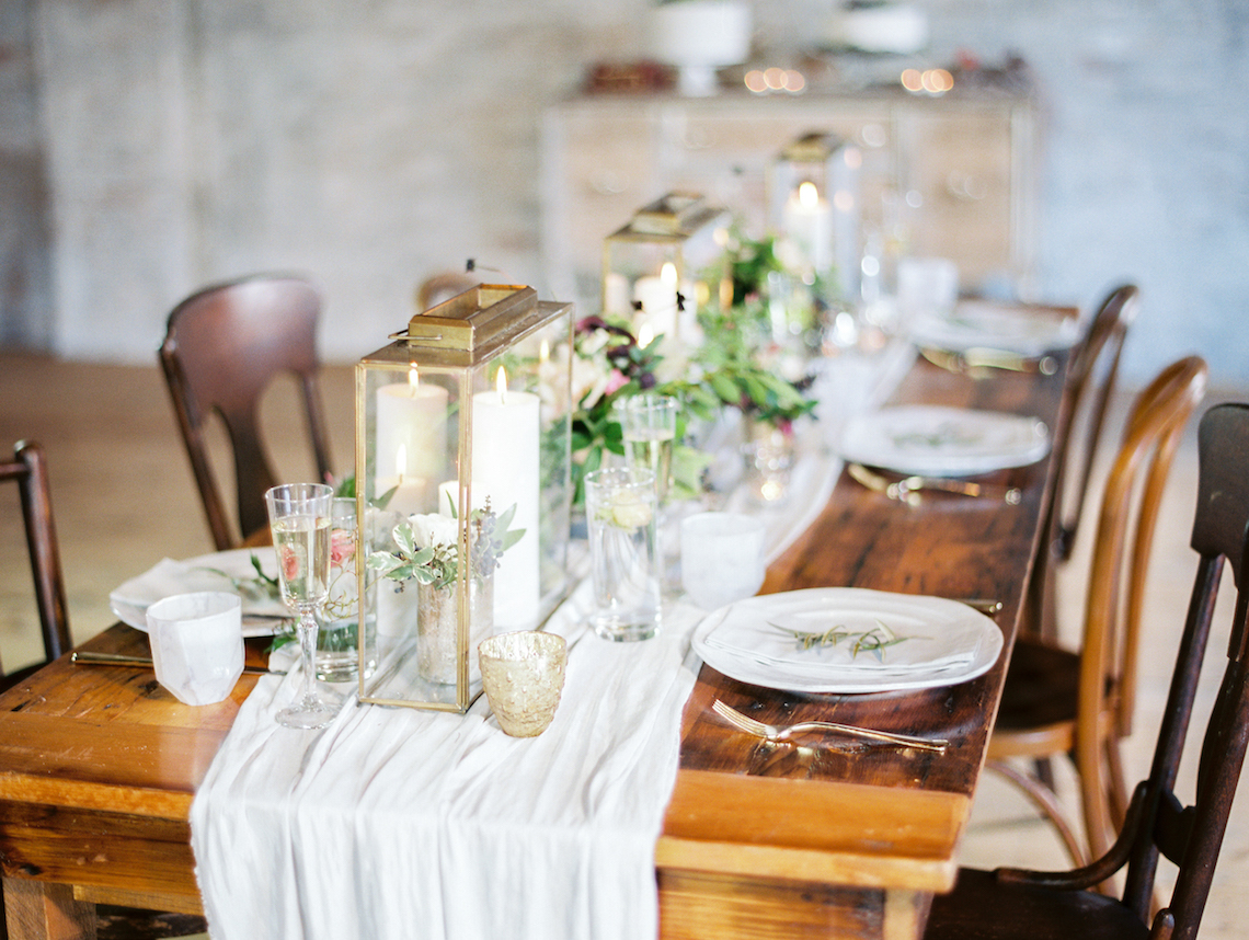 Pretty Warehouse Wedding Inspiration by Natashia Nicole Photography 34