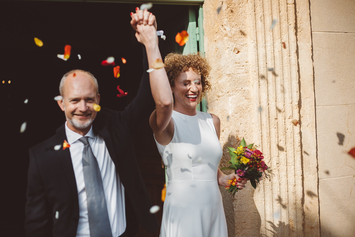 Relaxed and Simple Wedding in France by Time of Joy Photography 16