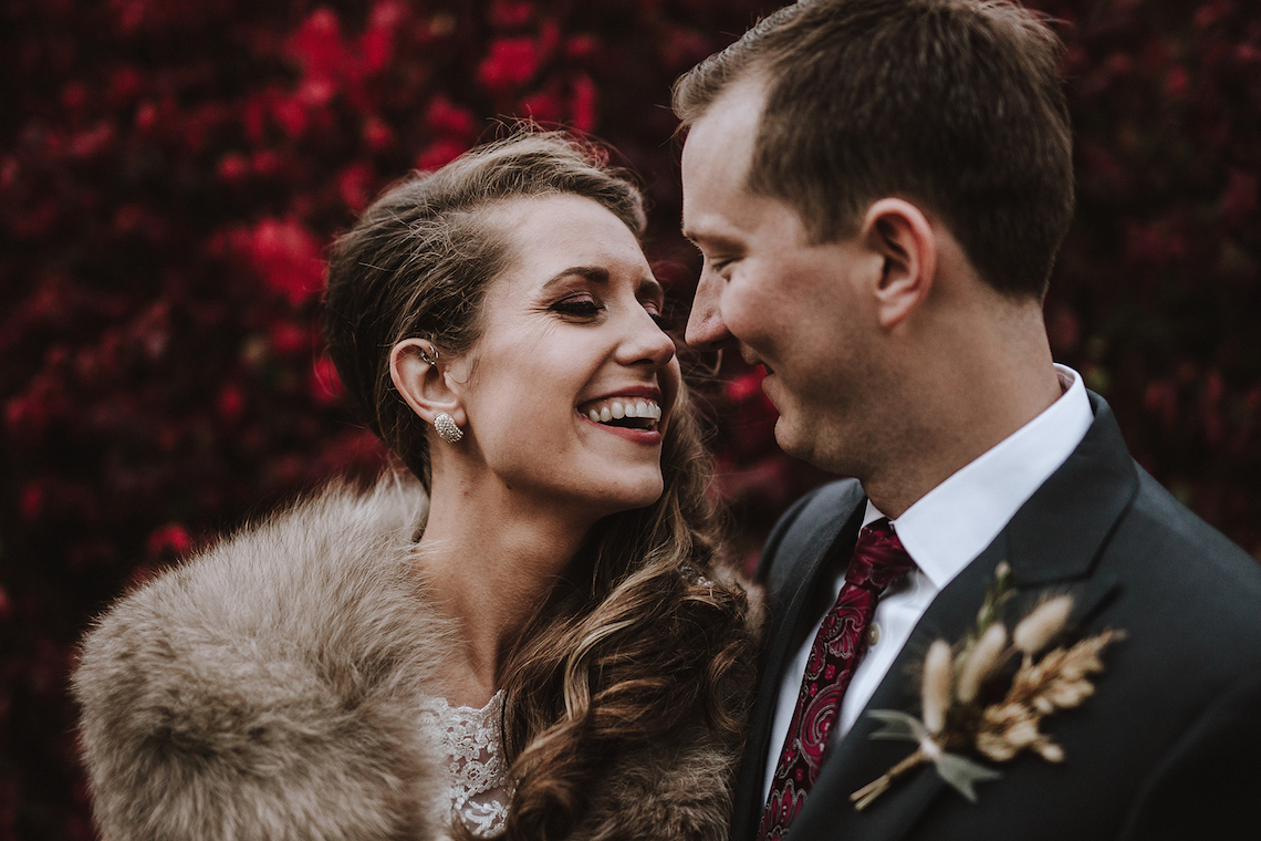 Romantic Winter Wedding by Brandi Potter Photography 45