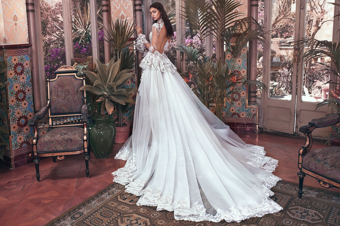 Tesla and Tesla train Galia Lahav Wedding Dress Collection 2018 25