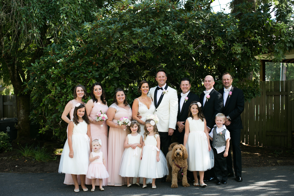 Beautiful Lakehouse Wedding by Jamie Rae Photo 43