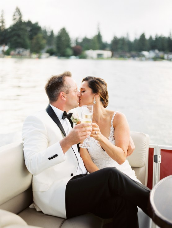 Beautiful Lakehouse Wedding by Jamie Rae Photo 61