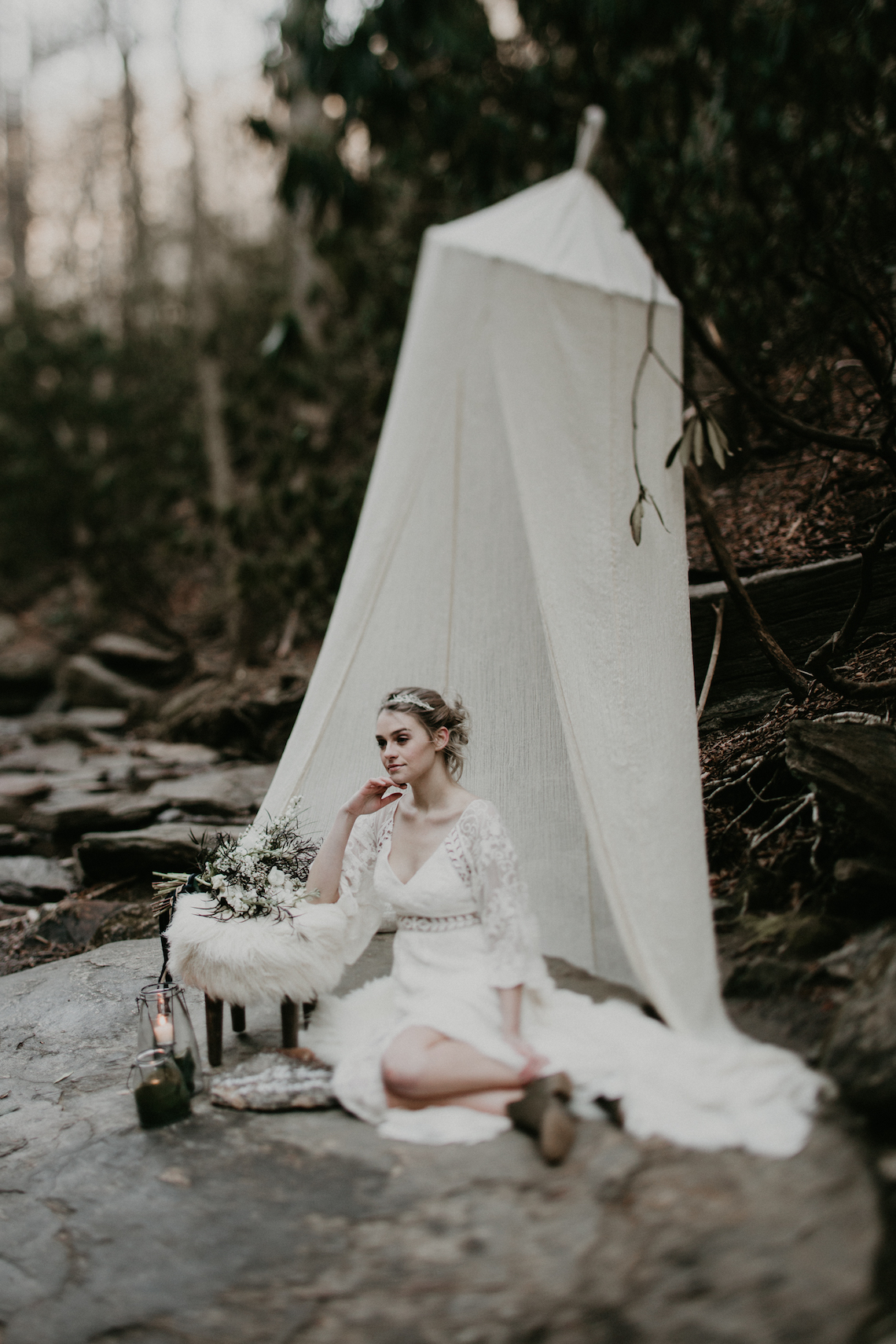 Boho Wedding Inspiration by Trek and Bloom Photography Co.37