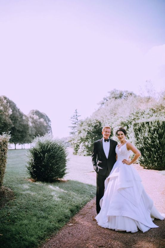 Glamorous French Wedding by Alisabeth Von Presley and Fete in France 12