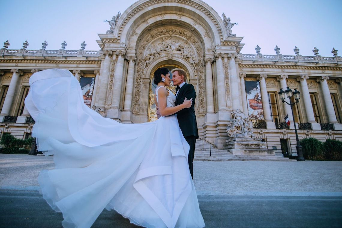 Glamorous French Wedding by Alisabeth Von Presley and Fete in France 31