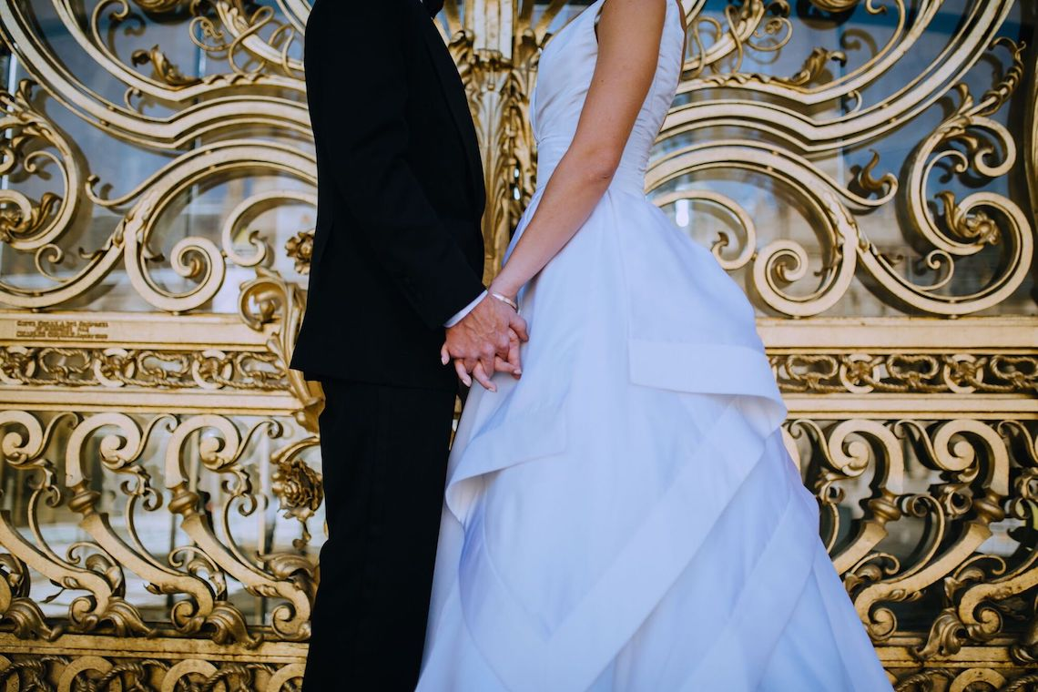 Glamorous French Wedding by Alisabeth Von Presley and Fete in France 33