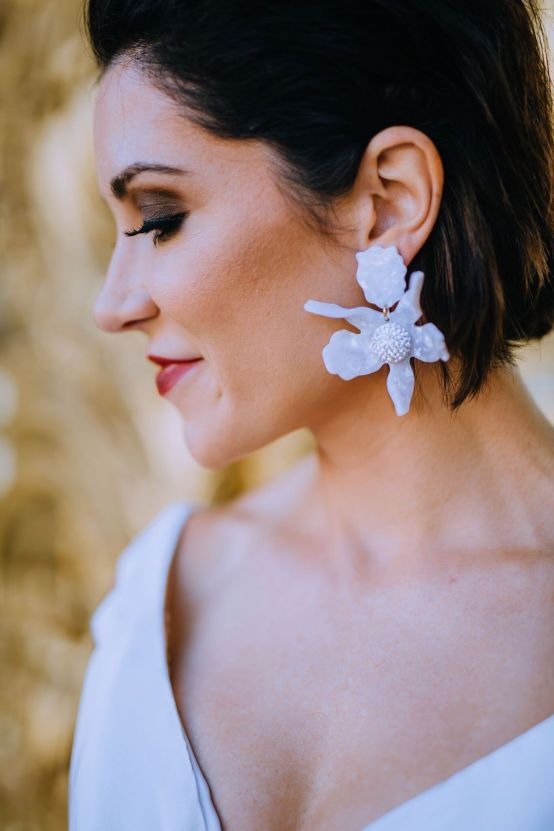 Glamorous French Wedding by Alisabeth Von Presley and Fete in France 34