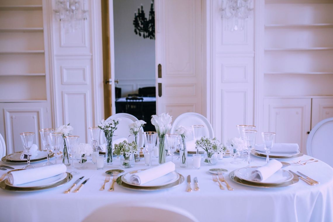 Glamorous French Wedding by Alisabeth Von Presley and Fete in France 45