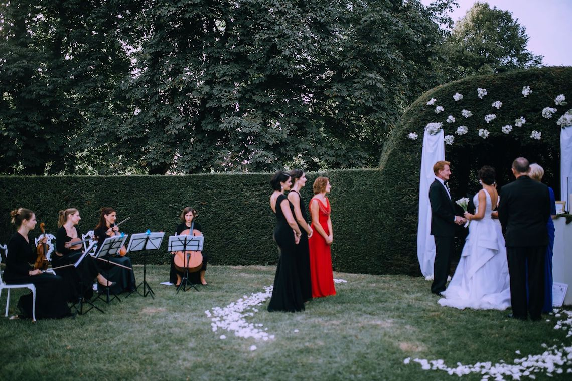Glamorous French Wedding by Alisabeth Von Presley and Fete in France 52