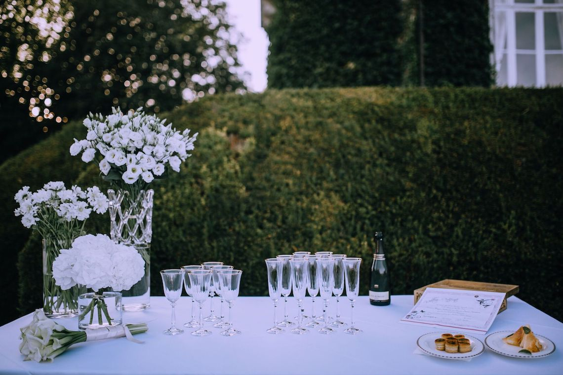 Glamorous French Wedding by Alisabeth Von Presley and Fete in France 59