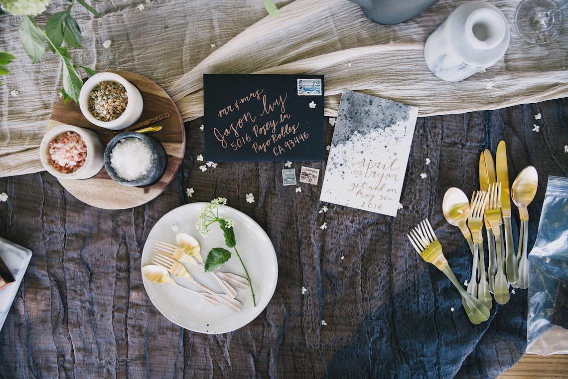 Modern Farmhouse Wedding Inspiration by Alexandra Wallace and A Lovely Creative 53