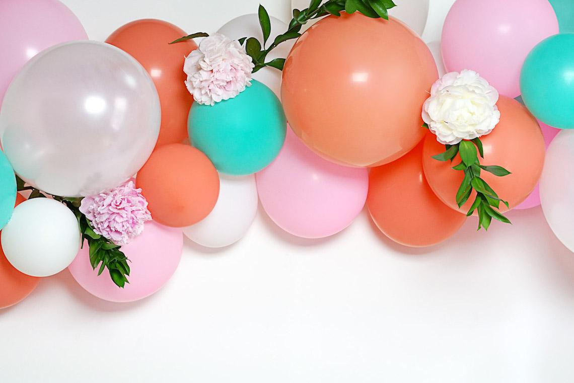 01 Balloon Arch DIY