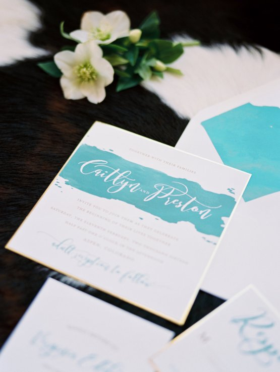 Contemporary Winter Wedding Inspiration by Rachel Havel and Bluebird Productions 19