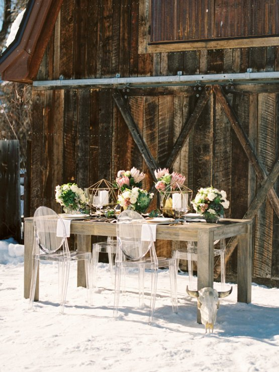 Contemporary Winter Wedding Inspiration by Rachel Havel and Bluebird Productions 26
