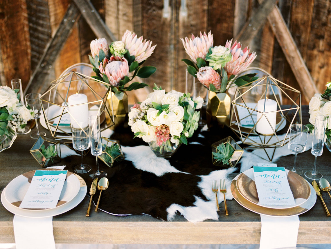 Contemporary Winter Wedding Inspiration by Rachel Havel and Bluebird Productions 28