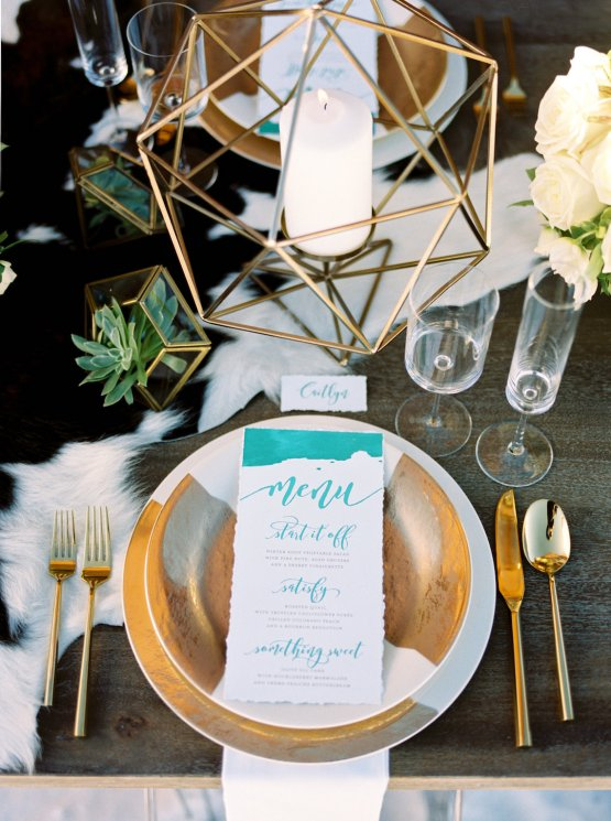 Contemporary Winter Wedding Inspiration by Rachel Havel and Bluebird Productions 33