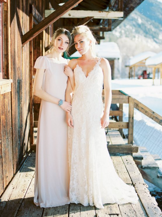 Contemporary Winter Wedding Inspiration by Rachel Havel and Bluebird Productions 36